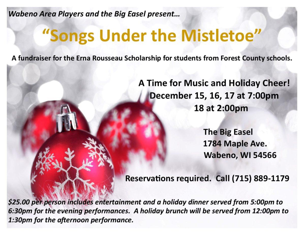 """Songs Under the Mistletoe"""